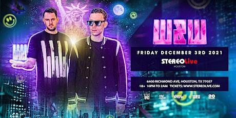 W&W - Stereo Live Houston tickets