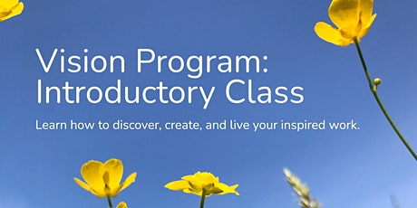 Vision Program: Introductory Class tickets