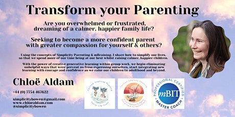 Transform your Parenting tickets