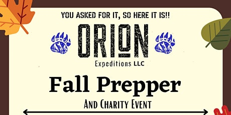Fall Preppers & Charity Event tickets