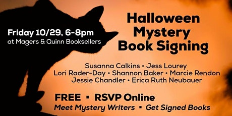 Halloween Mystery Author Signing tickets