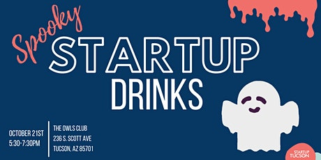 Startup Drinks: Spooky Edition tickets