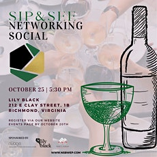 SIP & SEE Networking Social Richmond NSBWEP tickets