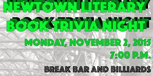 Newtown Literary's Book Trivia Night 2015