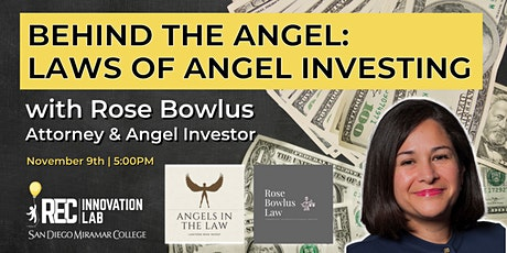 Behind the Angel: Laws of Angel Investing tickets