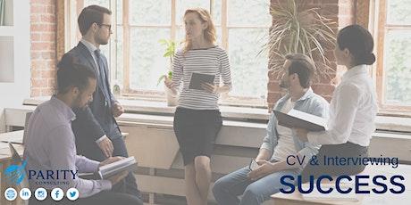 CV & Interviewing Workshop tickets