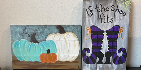 Witches and Pumpkins Pallet Painting @ The Rec Room tickets