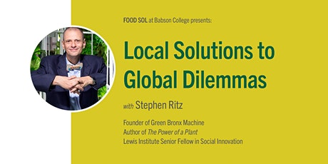 Community Table: Local Solutions to Global Dilemmas tickets