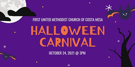 Halloween Carnival at First United Methodist Church of Costa Mesa tickets