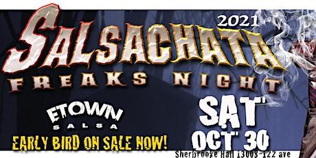 SALSACHATA HALLOWEEN FREAKS LATIN PARTY 2021 tickets