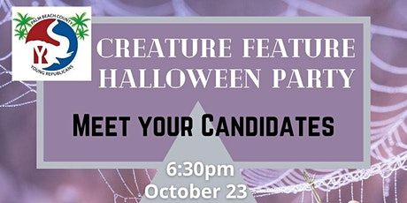 Creature Feature - Meet the Candidates Halloween Party tickets
