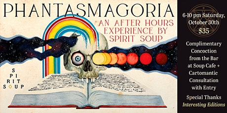 PHANTASMAGORIA: an Evening of Spooky Art + Entertainment tickets