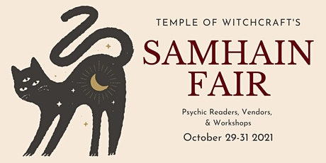 Samhain Faire 2021 tickets