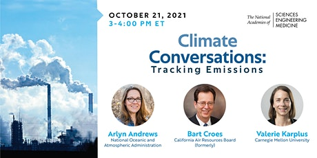 Climate Conversations: Tracking Emissions tickets