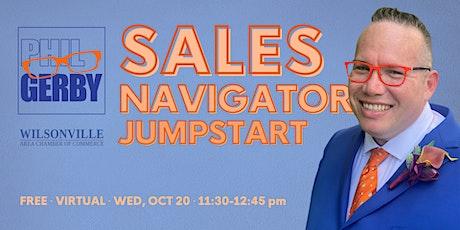 Sales Navigator Jumpstart tickets
