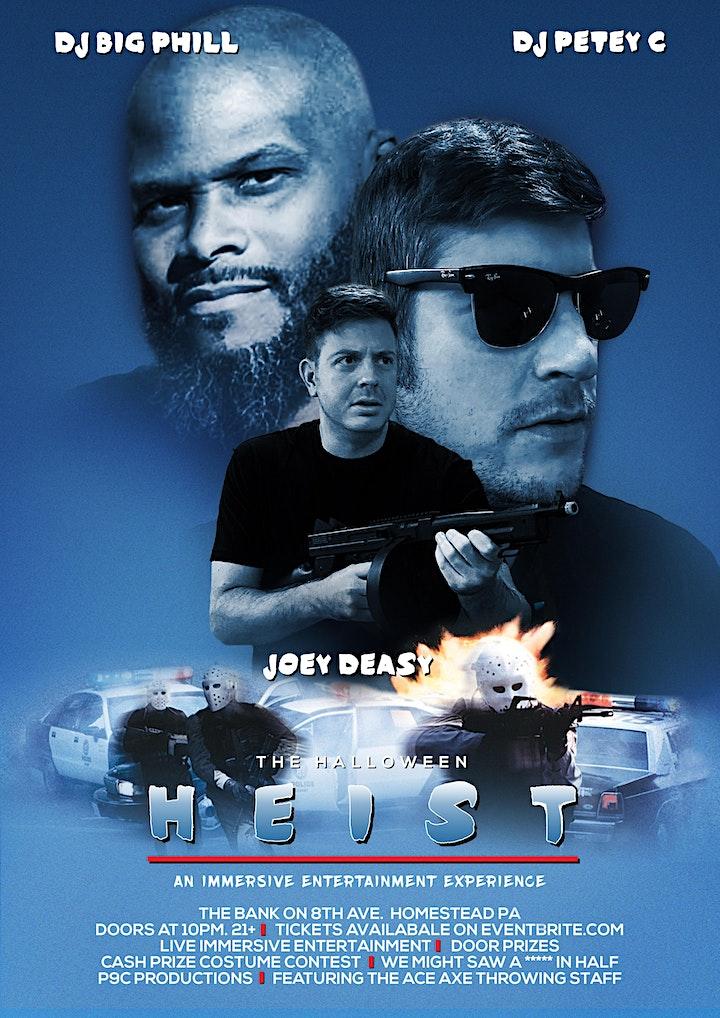 Halloween Heist - LIVE at the Bank on 8th Ave - DJ Petey C & DJ Big Phill image