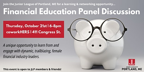 Financial Education Panel Discussion tickets