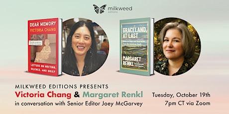 Milkweed Editions Presents Margaret Renkl & Victoria Chang tickets