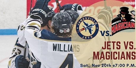 Sat Nov 20th Jets vs. Minnesota Magicians (G23) tickets