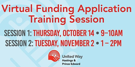 Virtual Funding Application Training Session tickets