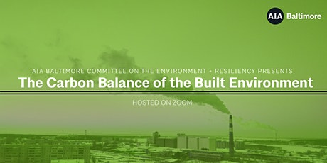 The Carbon Balance of the Built Environment tickets