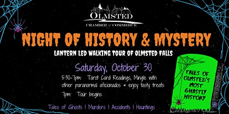 Night of History & Mystery: Spooky Walking Tour of Olmsted Falls tickets