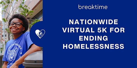 Nationwide Virtual 5k For Ending Homelessness! tickets