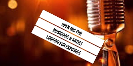 Open Mic For Musicians And Artist tickets
