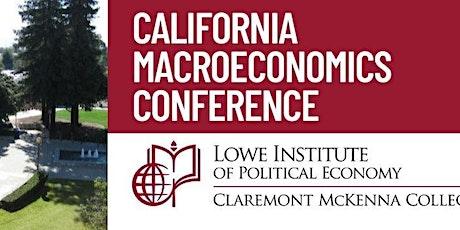 California Macroeconomics Conference at CMC tickets