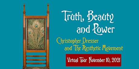 """Nov. 10 Virtual Tour of """"Truth, Beauty and Power"""" Exhibition tickets"""