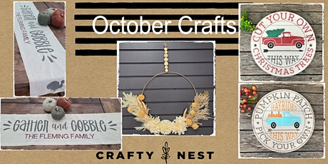 October 21st   Public Workshop at The Crafty Nest  - Whitinsville tickets
