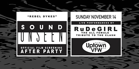 Sound Unseen After-Party with RuDeGIRL tickets
