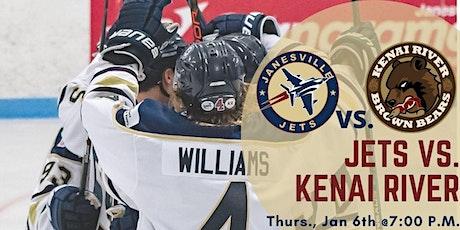 Thurs Jan 6th Jets vs. Kenai River Brown Bears (G33) tickets