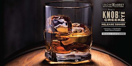 Knob Creek Rye Whiskey Release Dinner tickets