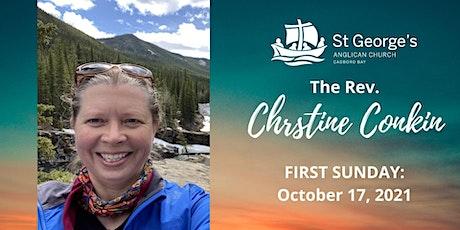 10am Registration - October 24 (Rev. Christine's second Sunday!) tickets