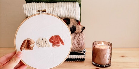 Sweater Weather Embroidery Workshop tickets
