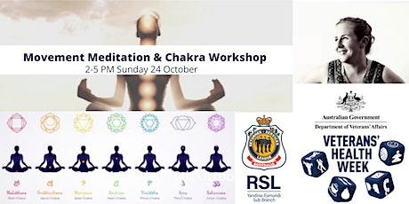 Creative Connections - Movement Meditation & Chakra Workshop tickets