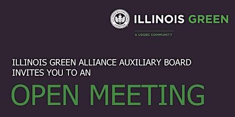 Illinois Green Auxiliary Board Virtual Open Meeting billets