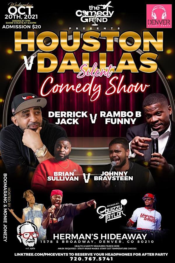 Houston vs Dallas Silent Comedy Show