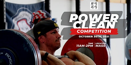 Power Clean Competition tickets