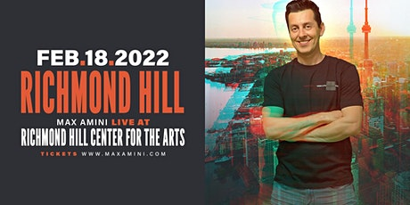 Max Amini Live in Richmondhill - 2022 World-tour **10PM SHOWTIME** tickets