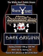 HEATHANZ SINZ W/ DARK ORIGINN LIVE! @ WHITE HART PUBLIC HOUSE tickets