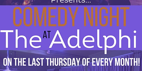 Jack O'Clubs Comedy Night at the Adelphi OCTOBER tickets