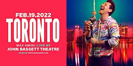 Max Amini Live in Toronto - 2022 World-Tour tickets