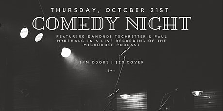 COMEDY NIGHT AT THE DUKE tickets