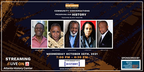Preserving Our History: Teaching Black Theatre tickets