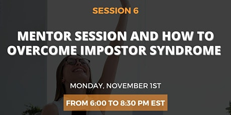 Mentoring session and How to overcome Impostor Syndrome tickets