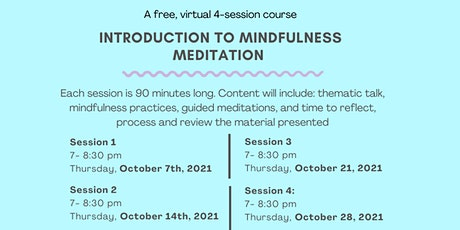 Free Mindfulness Meditation Course tickets