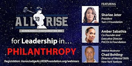 Leadership in Philanthropy tickets