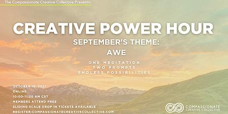 Creative Power Hour-An Online Creative Workshop tickets